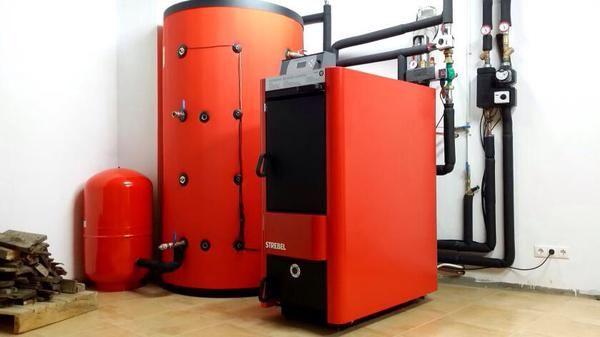 STREBEL TurboTec Log Boiler - Uses Split Logs Upto 1.2m Long ...