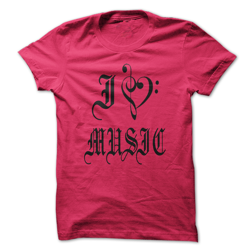 I love music T-Shirts, Hoodies. VIEW DETAIL ==► Funny Tee Shirts