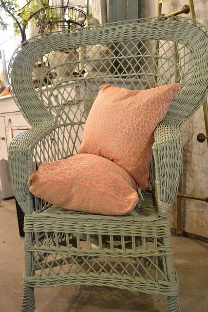 Wicker Chair Painted A Nice Pale Blue/gray. Chartreuse U0026 Co 4007  Buckeystown Pike Frederick, Maryland 21704 OPEN: Monthly, Fri Sun HOURS:  Fri/Sat Sun