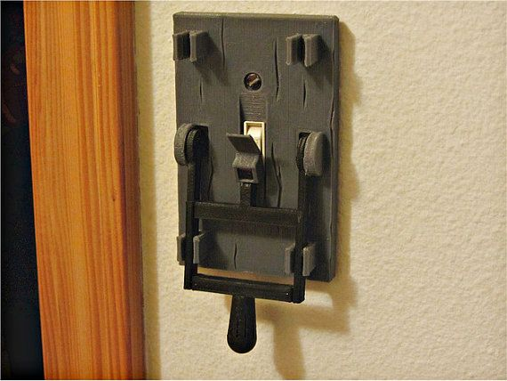 Frankenstein Light Switch Creepy Halloween by 3Ddreaming on Etsy