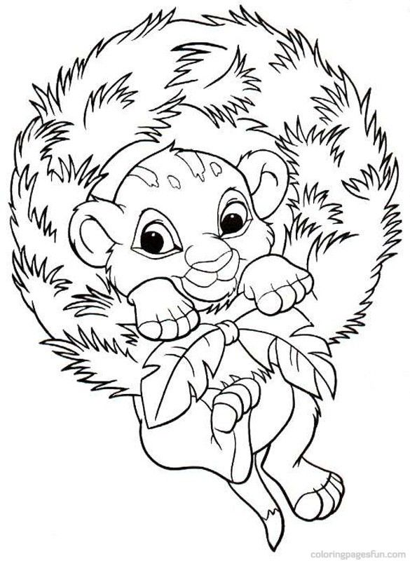 Christmas Disney Coloring Pages 3 | christmas ideas | Pinterest ...