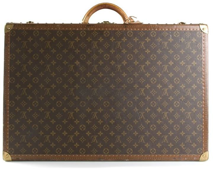 Louis Vuitton Vintage monogram 'Alzer 70' suitcase
