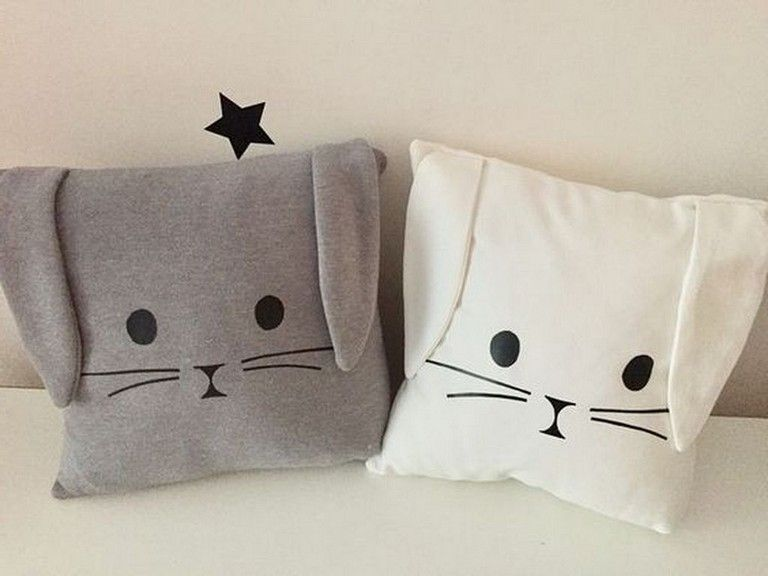Cute And Sweet Pillow Ideas For Kids