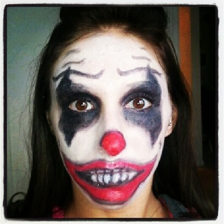 Scary Halloween Makeup Ideas Scary Clown Makeup Clown Makeup Halloween Makeup Scary