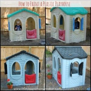 How To Paint Plastic Outdoor Toys Amenagement Exterieur