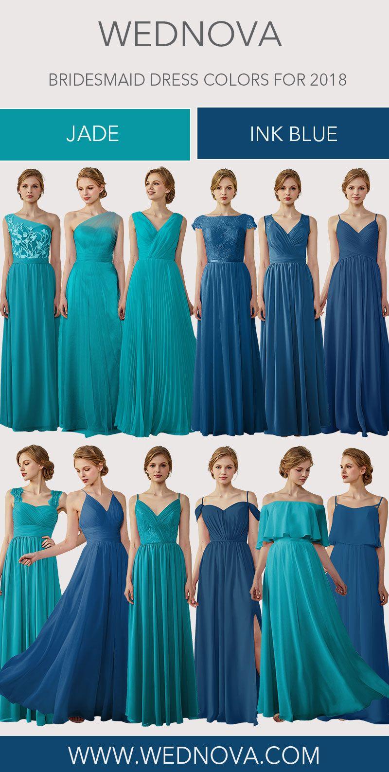 Ink blue bridesmaid dress spaghetti straps chiffon dress your mind