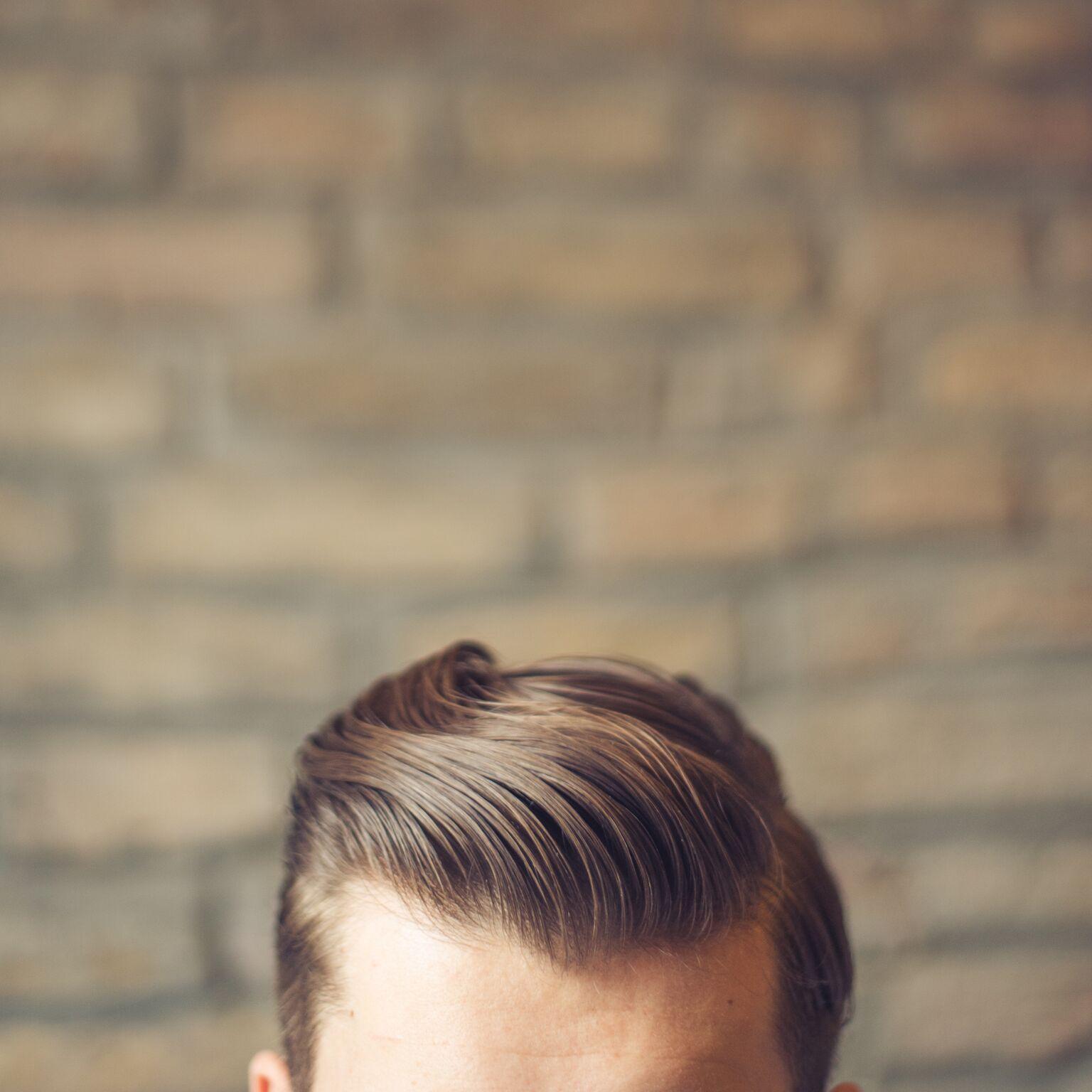 Frisuren für volles Haar