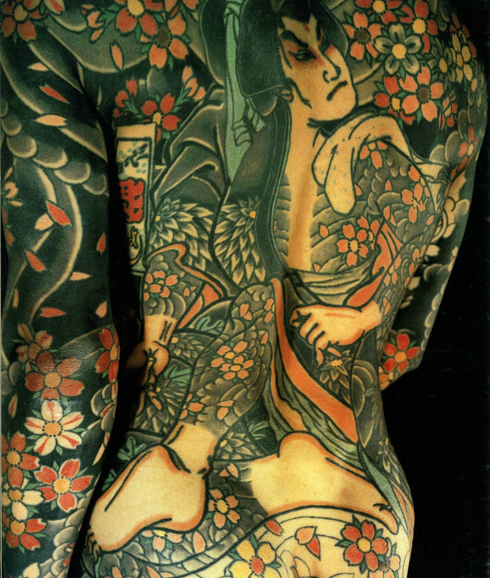 Japanese Tattoo Book Japanese Tattoo Art - Irezumi image from the book entitled the japanese tattoo by sandi fellman