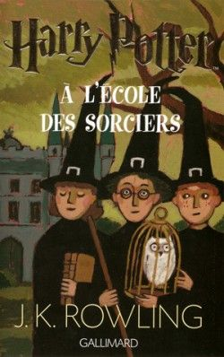 Couverture De Harry Potter Tome 1 Harry Potter A L Ecole