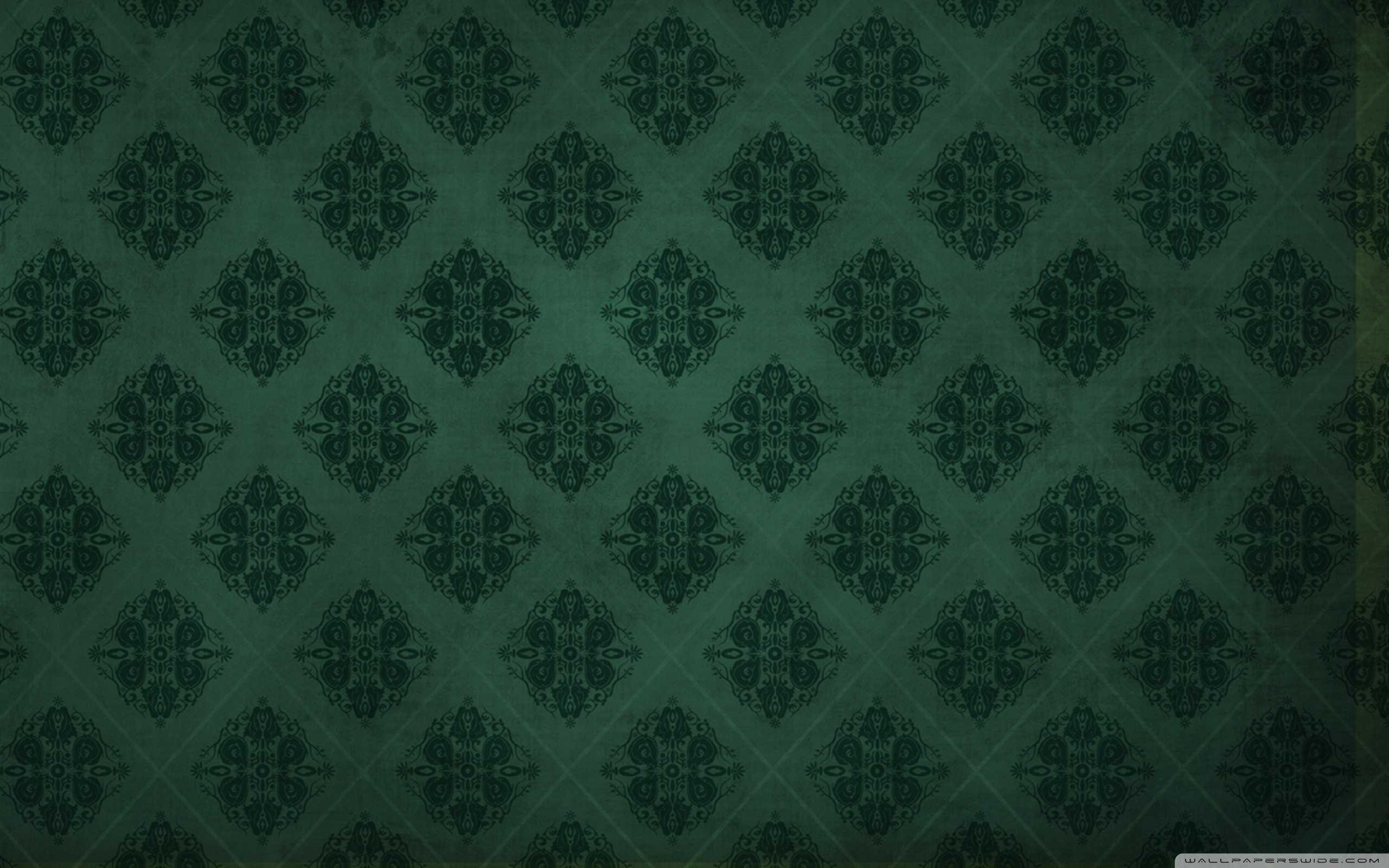 green damask wallpaper http//hdwallpaper.info/green