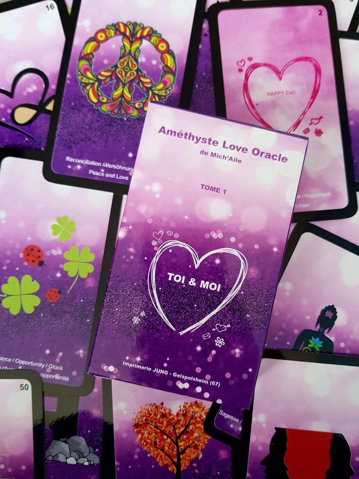 Michailelovetarot in 2020 love oracle peace love tarot