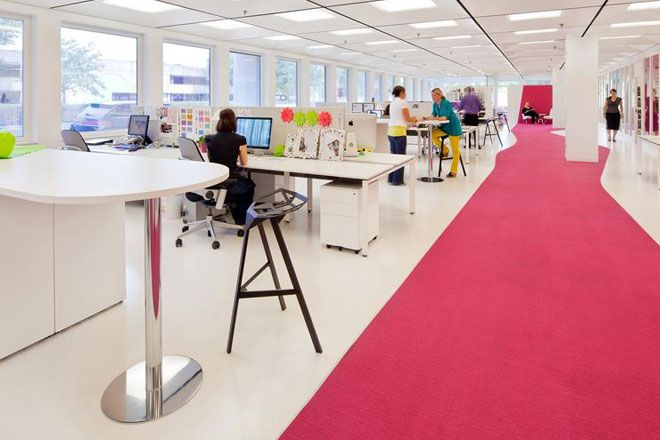 Office design even tiny changes can boost workplace wellbeing charterbuild