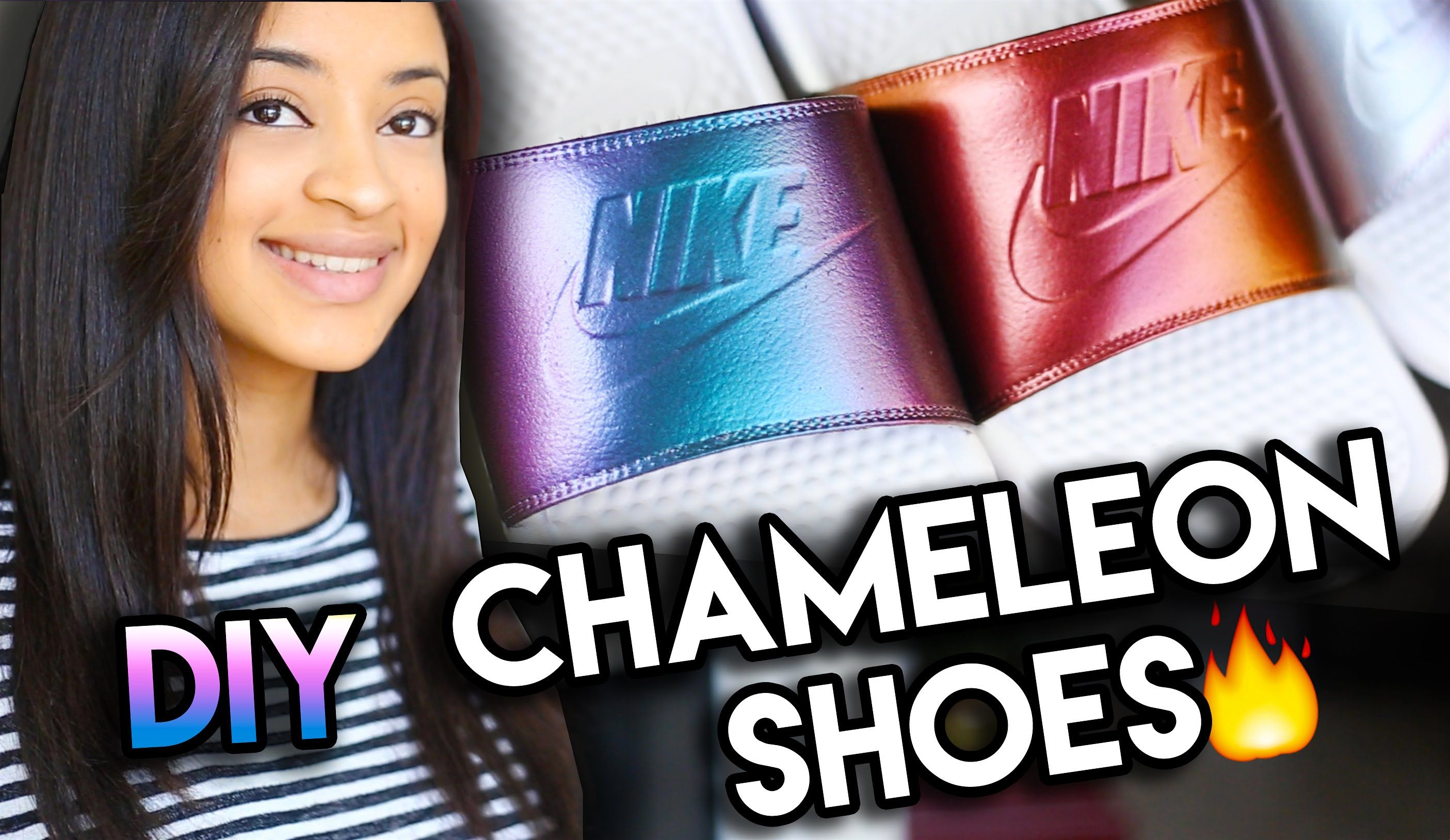 25d6e21f0e6503 How To  Chameleon Chrome Color Shifting Shoes