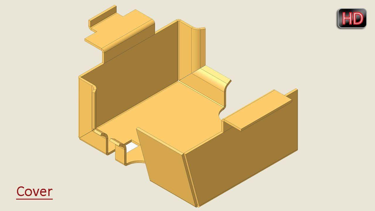 Autodesk Inventor Basic Tutorial Sheet Metal Autodesk Inventor Sheet Metal Solidworks