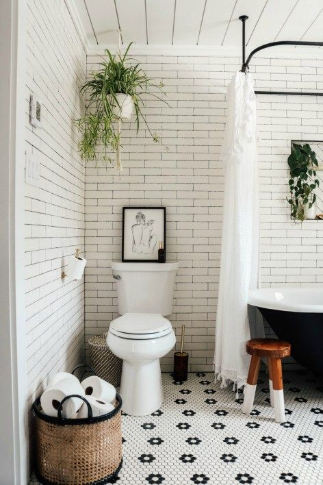 Master Bathroom Reveal with Claw Foot Tub – Nesting With Grace