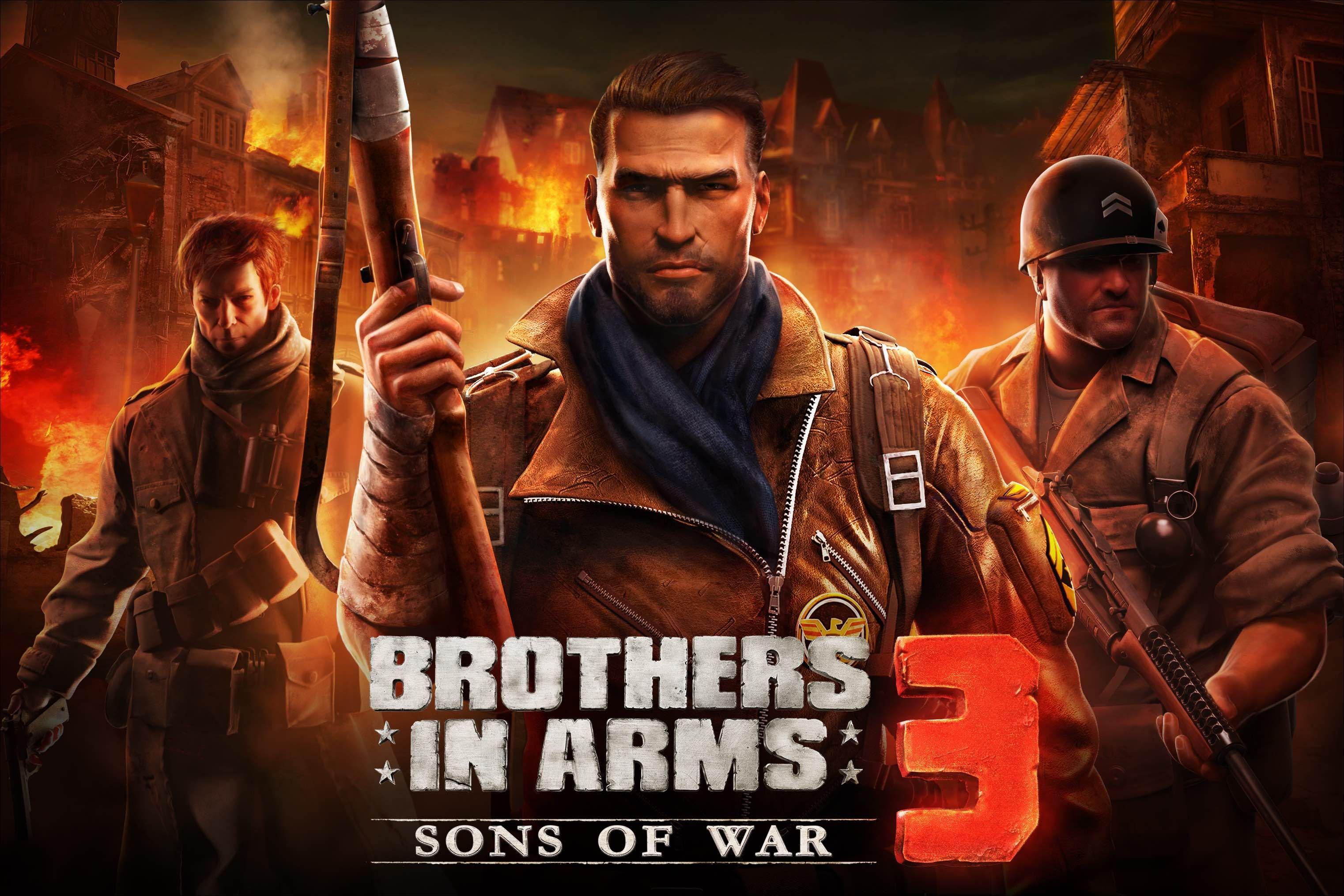 Gameloft releases Brothers in Arms 3: Sons of War - www mobilga com