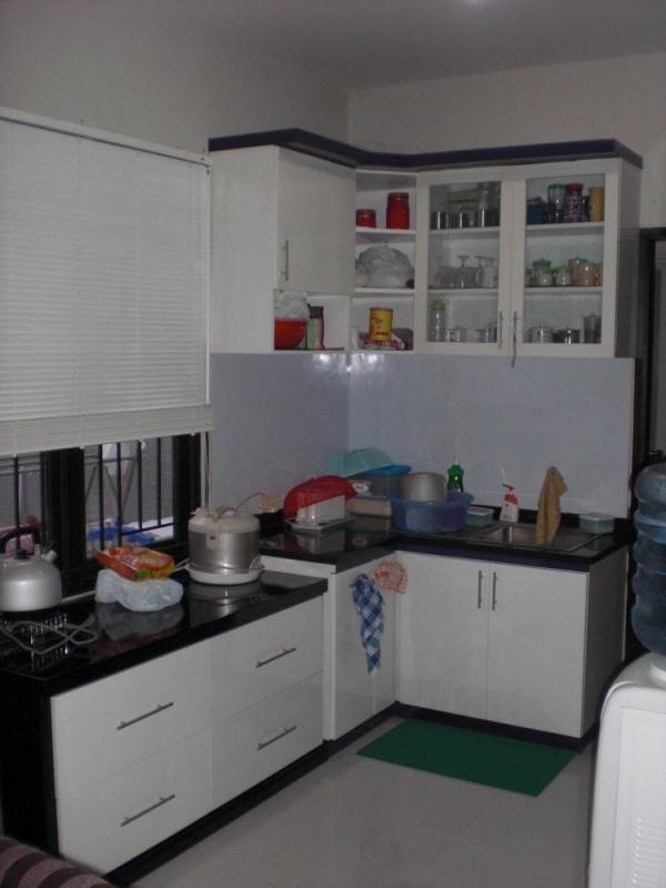Dapur minimalis type 36 desain menarik 006 dapur for Kitchen set rumah minimalis