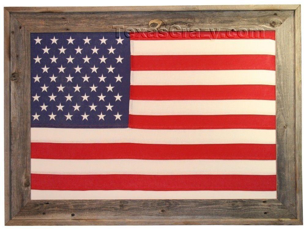 Buy Large 3 X 5 American Flag Framed Framed Flag Framed American Flag Barn Wood Frames