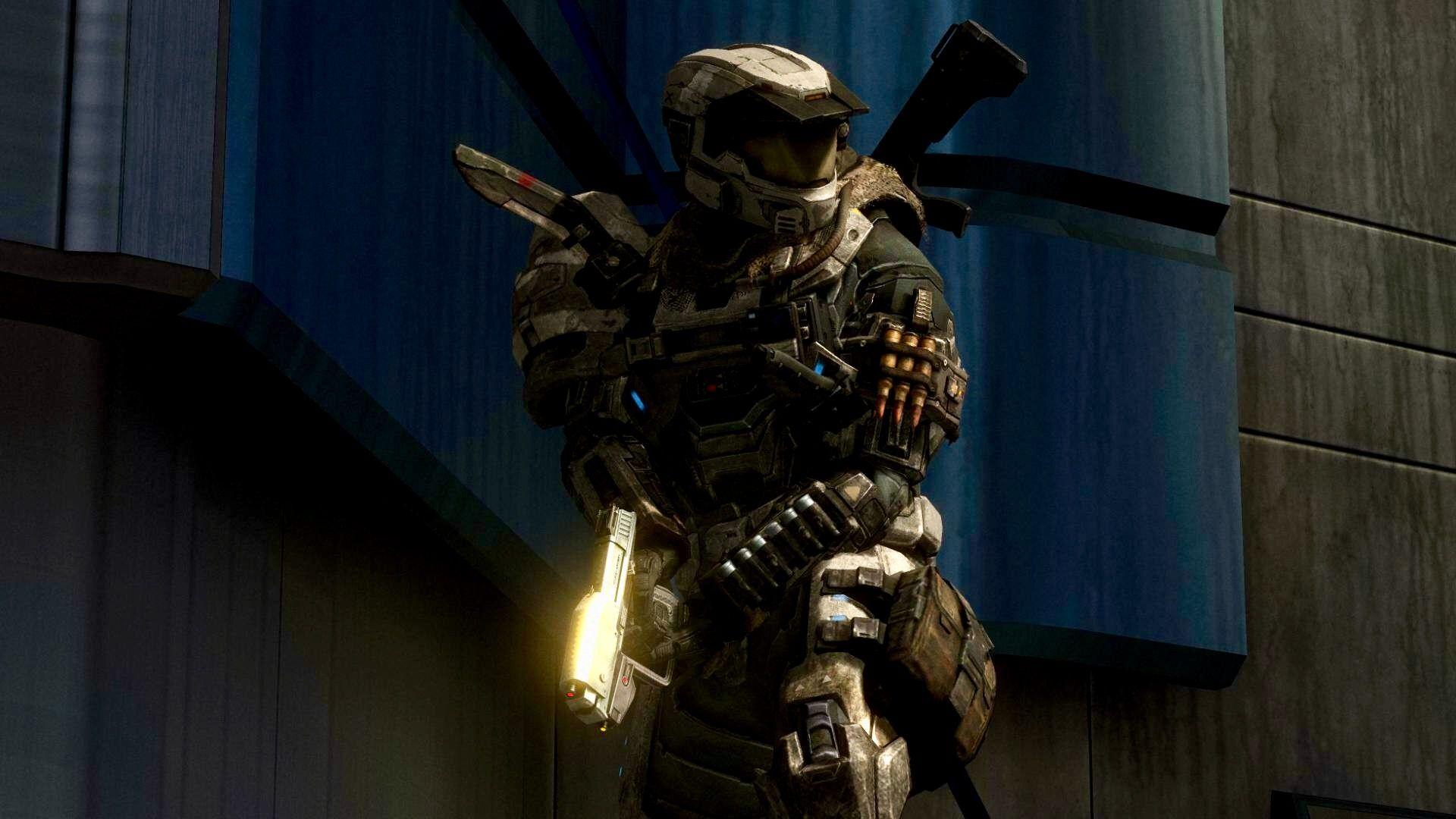 Stay Alert Of Any Hostile Activity Spartan Halo Reach Halo