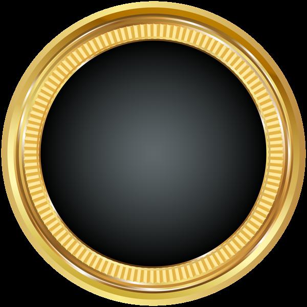 Seal Badge Gold Black Png Clip Art Image Digital Graphics Art Art Images Clip Art