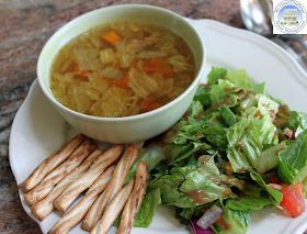 My Great Challenge: Easy Negative Calorie Soup - AKA cabbage soup.