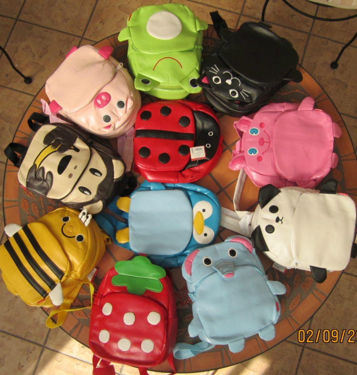 Mochilas Para Chicos!super Originales!!de Animales.