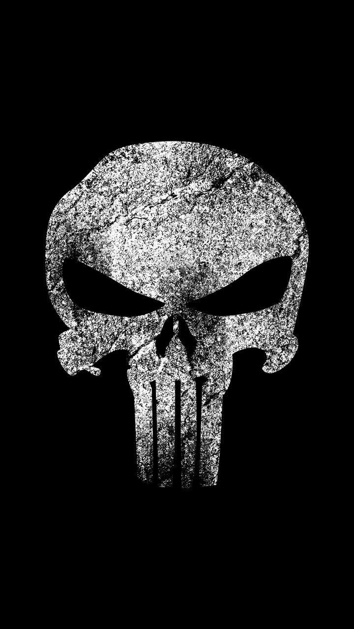 Pin by Ciwink Cricket on Android Punisher tattoo, Black