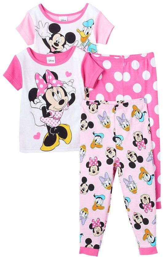 90276f5dd Disney Disney s Minnie Mouse Minnie   Friends Toddler Girl 4-pc ...