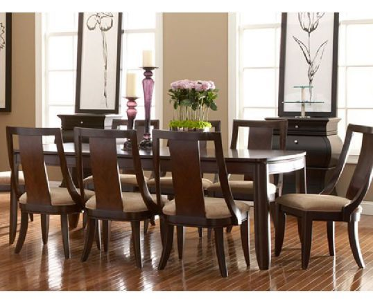 Boulevard Dining Table Big Family Or Frequent Guests This Contemporary 8 Seater Invites Ever Dinning Room Decor Residential Furniture Dining Room Furniture
