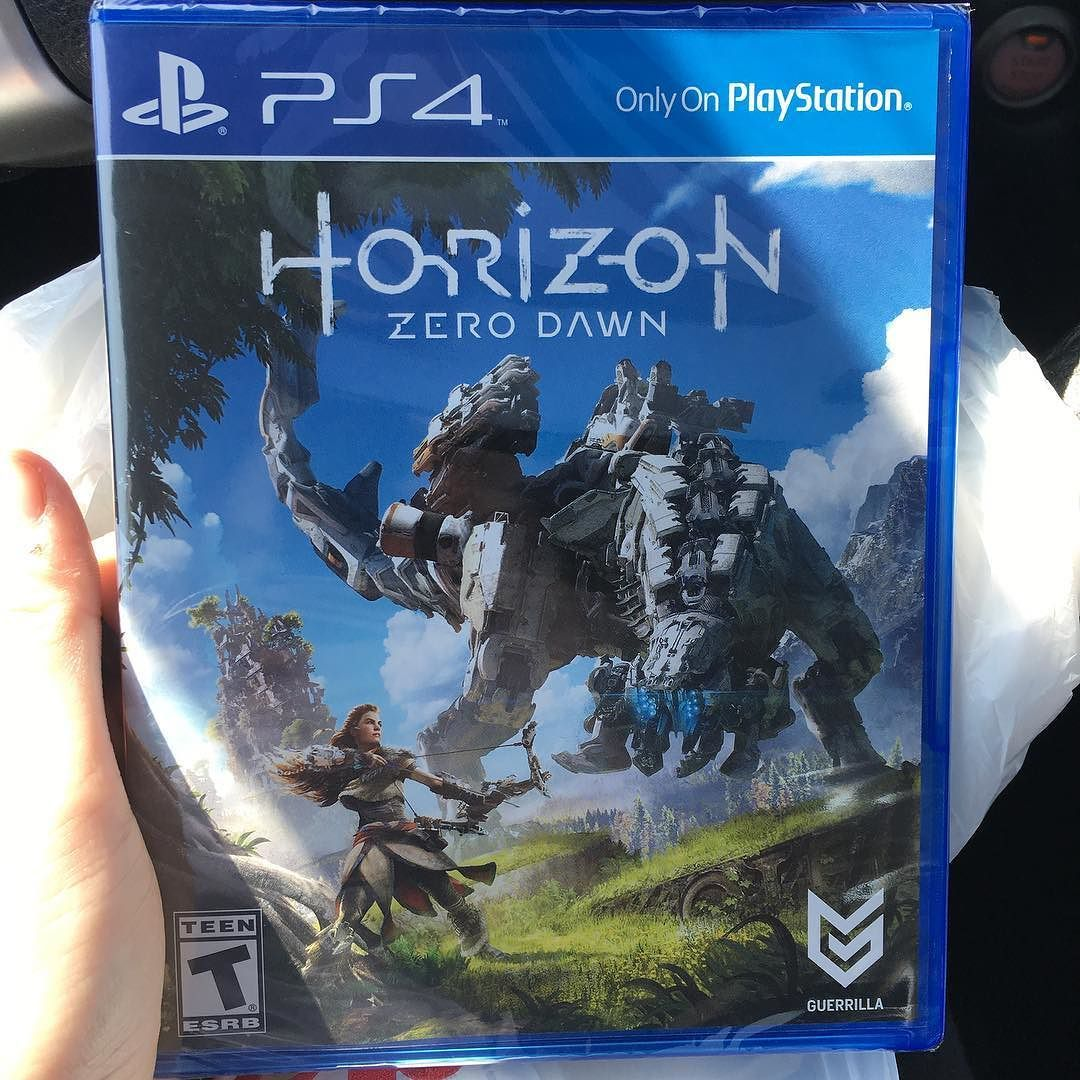 HERE WE GO Horizon zero dawn, Ps4 games, Playstation 4