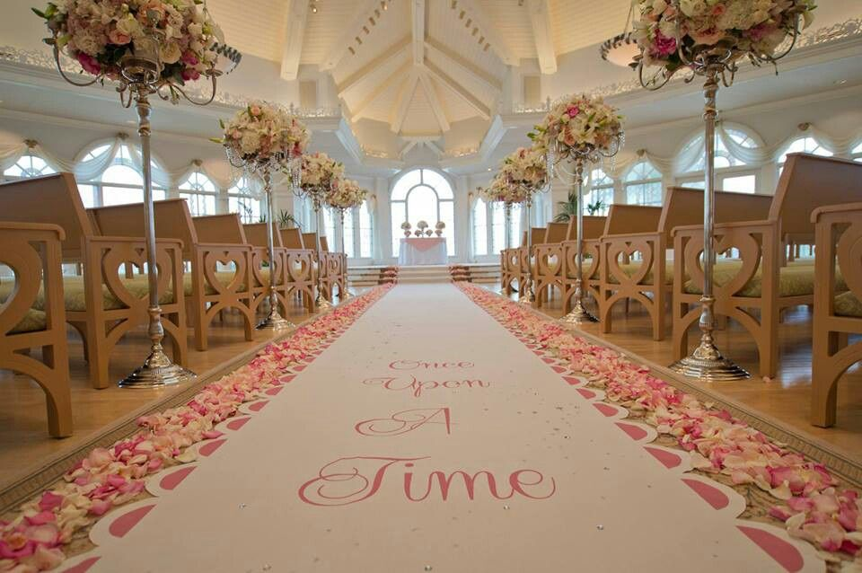Once Upon A Time Aisle Runner