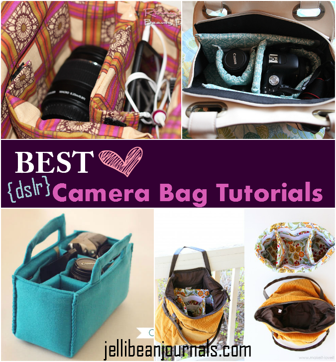 Best Diy Camera Bag Tutorials