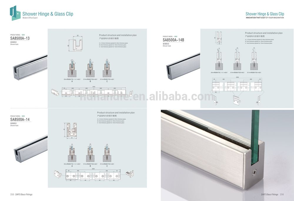 Stainless Steel Glass Metal Frame For Wall Metal Frame Frame Glass