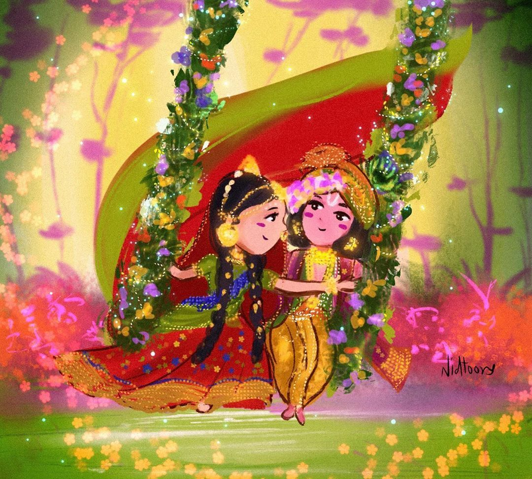 Pin By Tanvi Niharika On Jai Sri Krishna Radha Krishna Art Krishna Radha Painting Krishna Painting