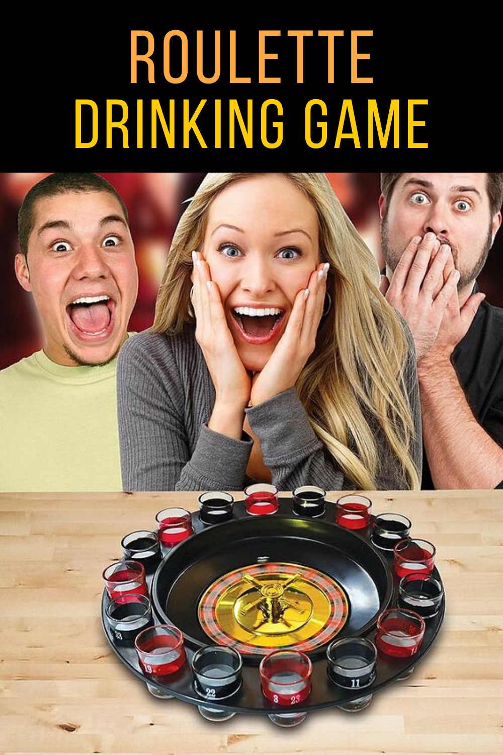 Roulette Shot Drinking Game in 2020 Drinking games, Shot