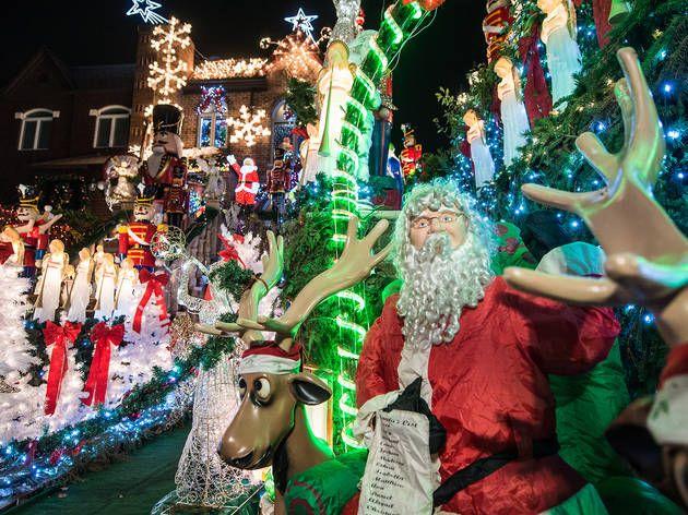 The Dyker Heights Christmas Lights 2016 guide Christmas lights