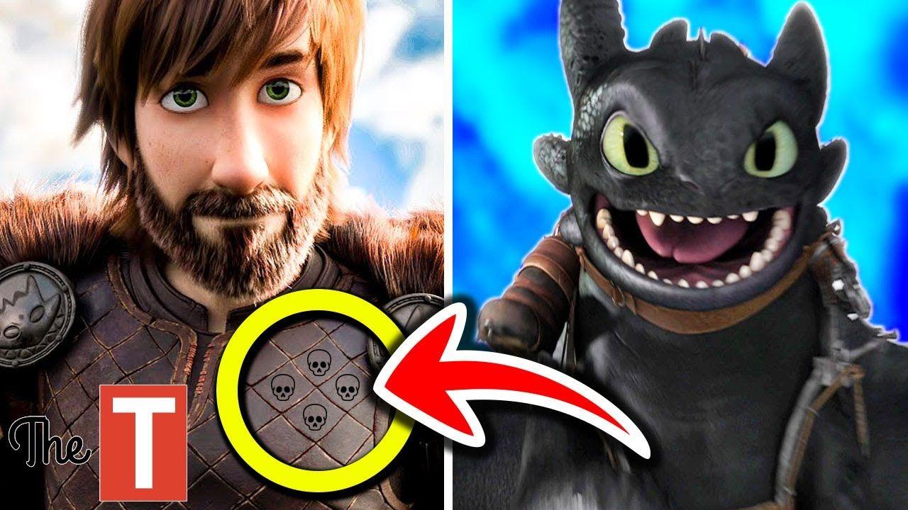 10 Dark Secrets Hidden In How To Train Your Dragon 3 The Hidden World How Train Your Dragon How To Train Your Dragon How To Train Your Dragon 3