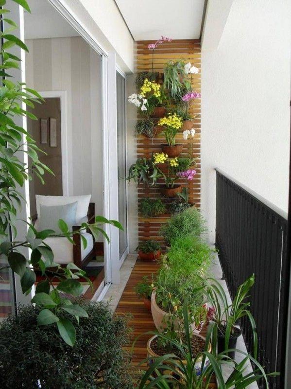 Galleria foto - Come arredare un balcone piccolo Foto 15 | Balconi ...