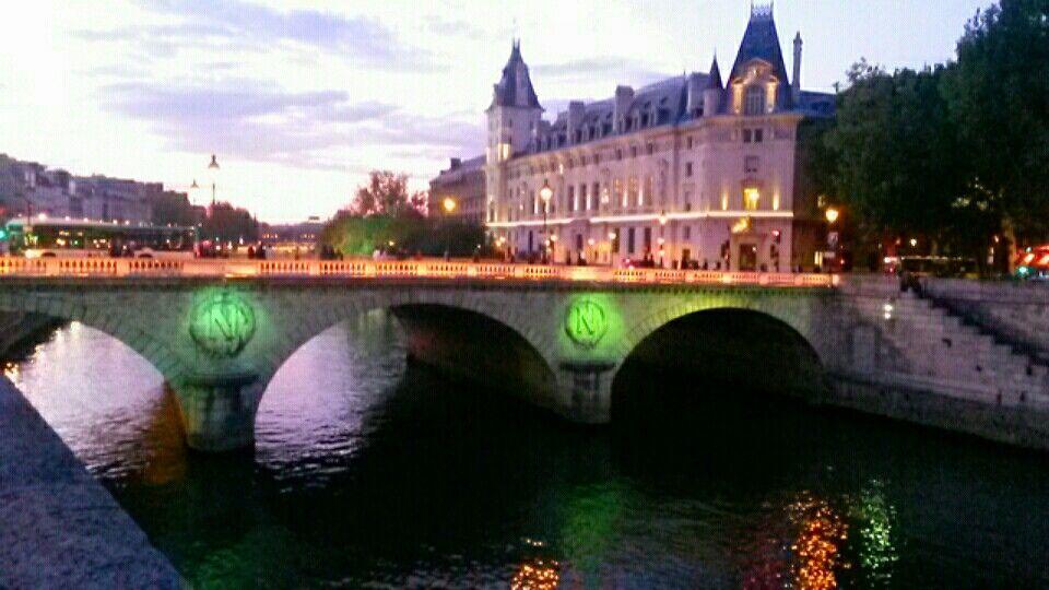 Pont Saint-Michel in Paris, Île-de-France