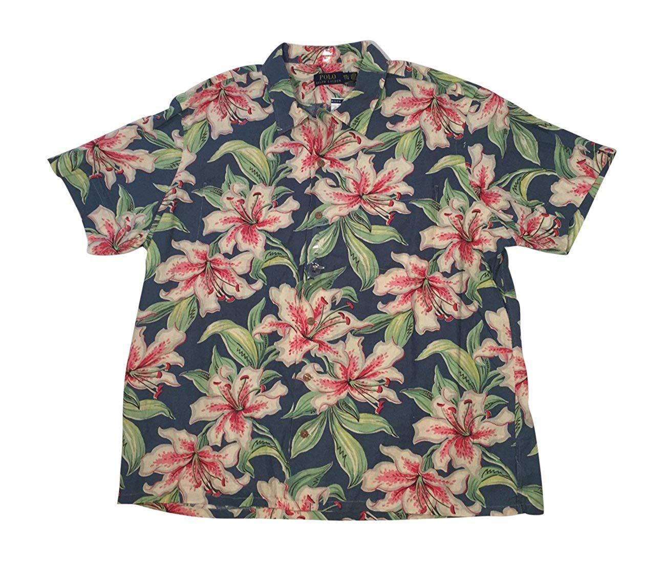 HANA+DORA Mens Casual Chest Pocket Short Sleeve Stripe Button Down Shirts