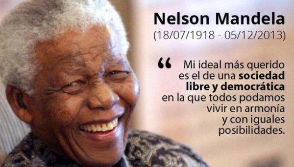 Imágenes Con Frases Destacadas Dmandelae Nelson Mandela Para