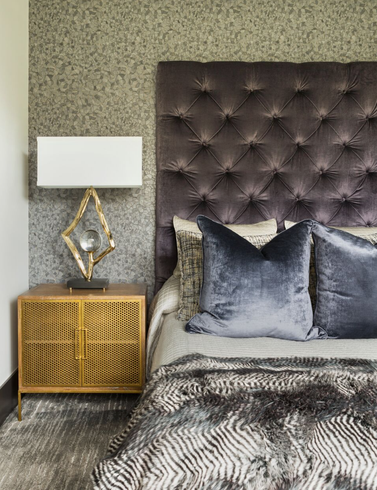 Best Love All The Texture And Color Happening In This Modern Bedroom By Goddard Design Group 640 x 480
