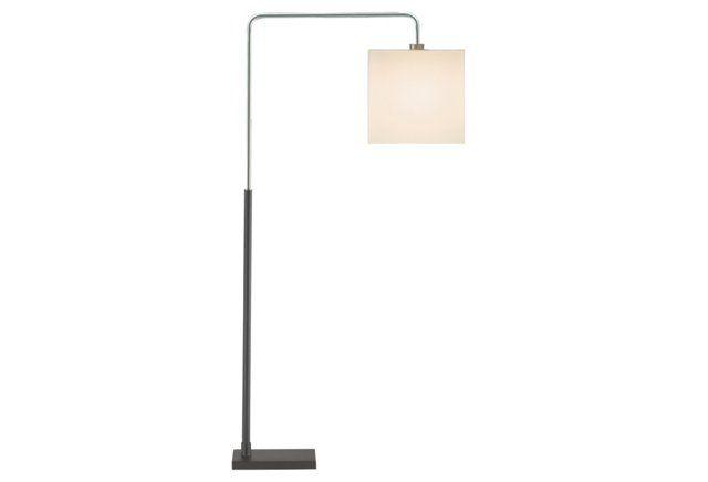 Essex Arc Floor Lamp, Black