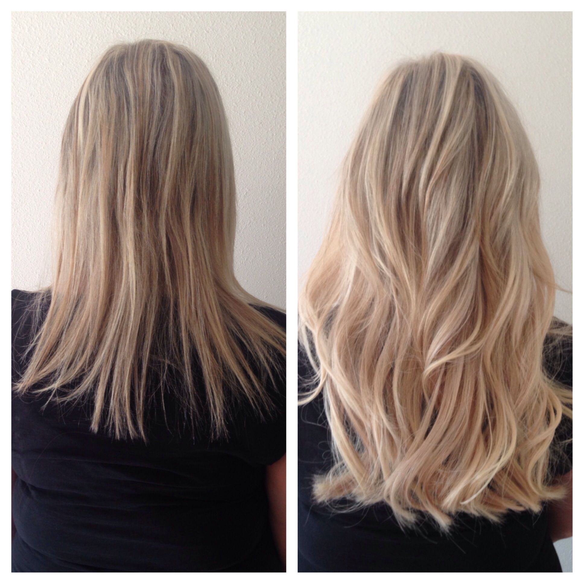 Gorgeous Blonde Volume Length Using Great Lengths Hair Extensions