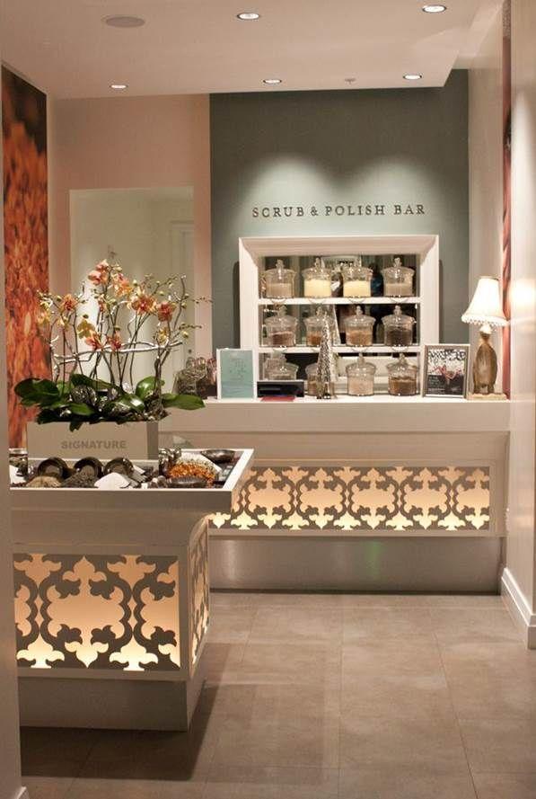 Pin By Liz Riemersma On Te Office Branding Ideas Spa Decor Salon Decor Beauty Salon Decor