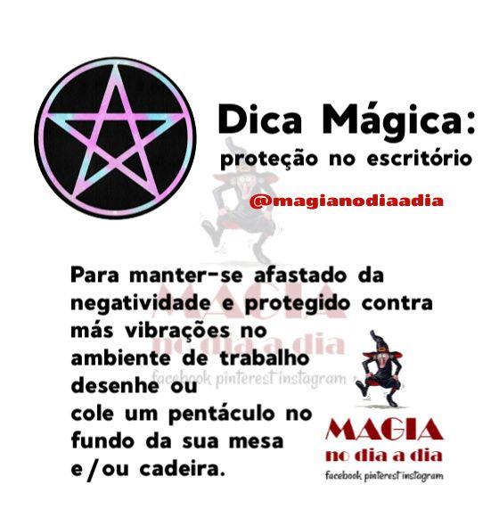 Dica Mágica: Pentáculo