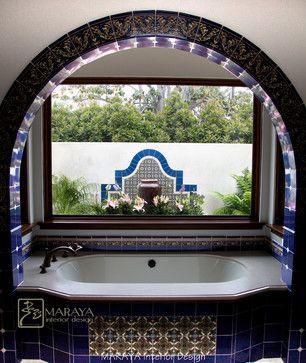 Malibu Tile Master Bath With Fountain