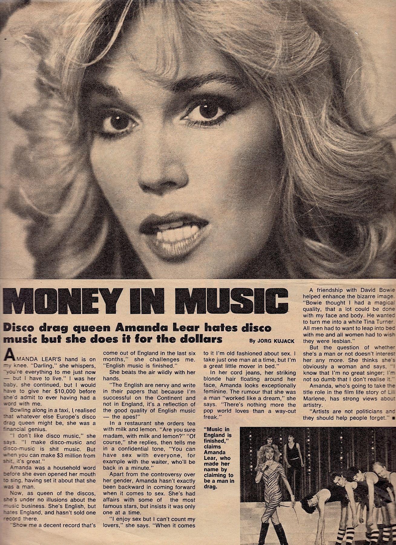 Amanda Lear Deutsch amanda lear people magazine (australia) march 22 1979. cover