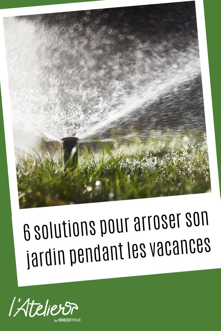 6 Solutions Pour Arroser Son Jardin Pendant Les Vacances Jardins