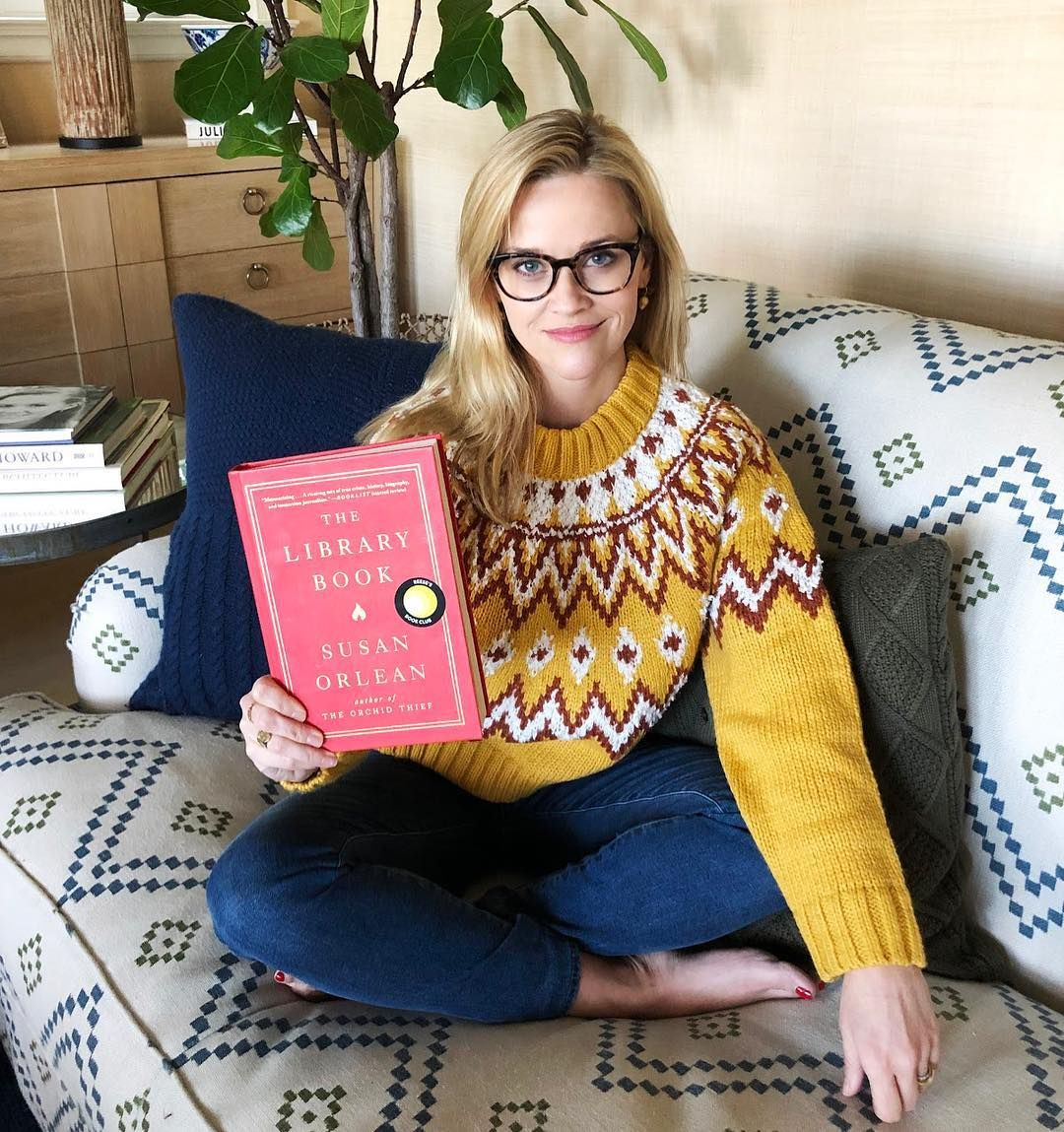 We're Totally Adding Reese Witherspoon's First Book Pick